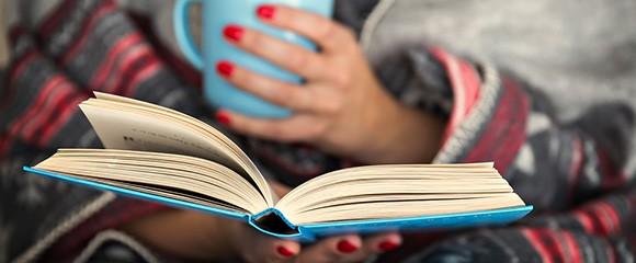 Reading book lifestyle