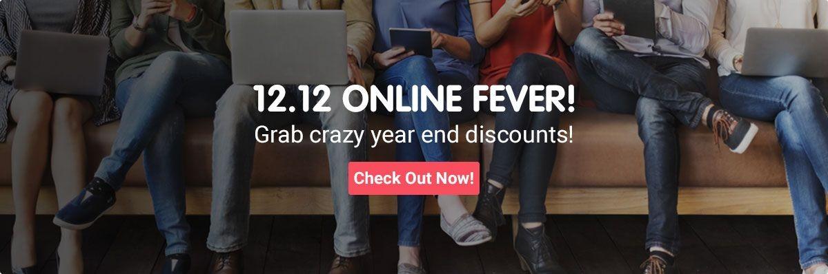 12-12 Online Fever Sale